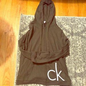 Calvin Klein Olive Logo Hoodie 👟
